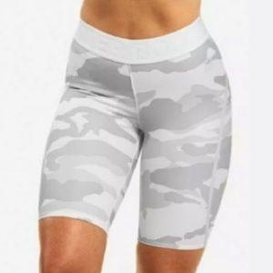 Better Bodies White Camo Shorts (NWT)